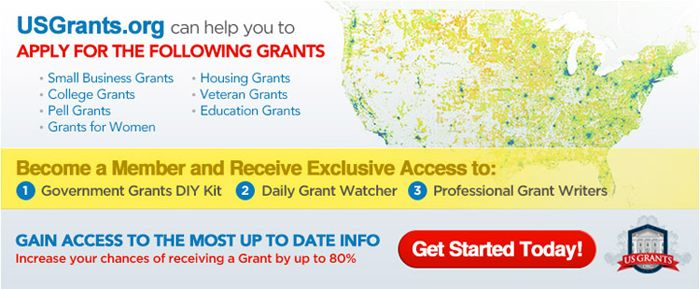 Government Grants Affiliate Program Offered by USGrants.org