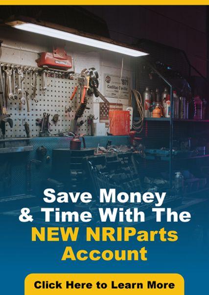 New Account Benefits on NRIParts.com
